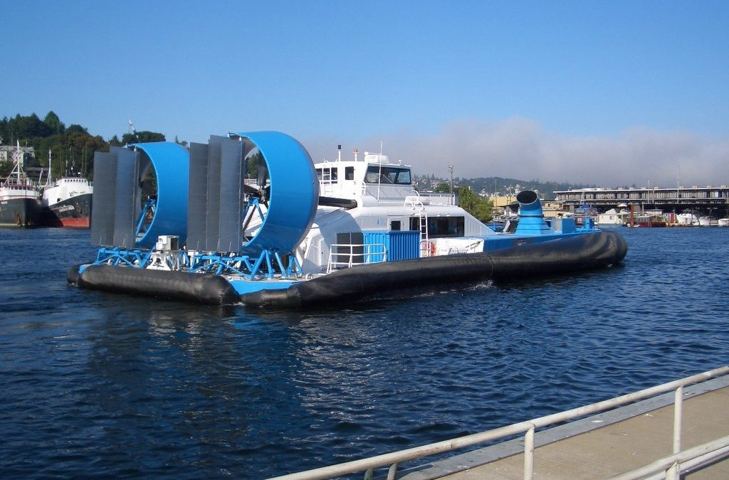 Hovercraft Propeller Ducts