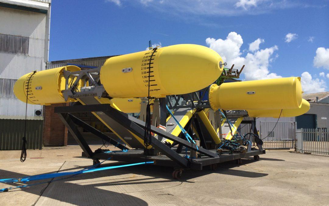 SME (Sustainable Marine Energy Ltd) PLAT-O 1 Tidal Turbine