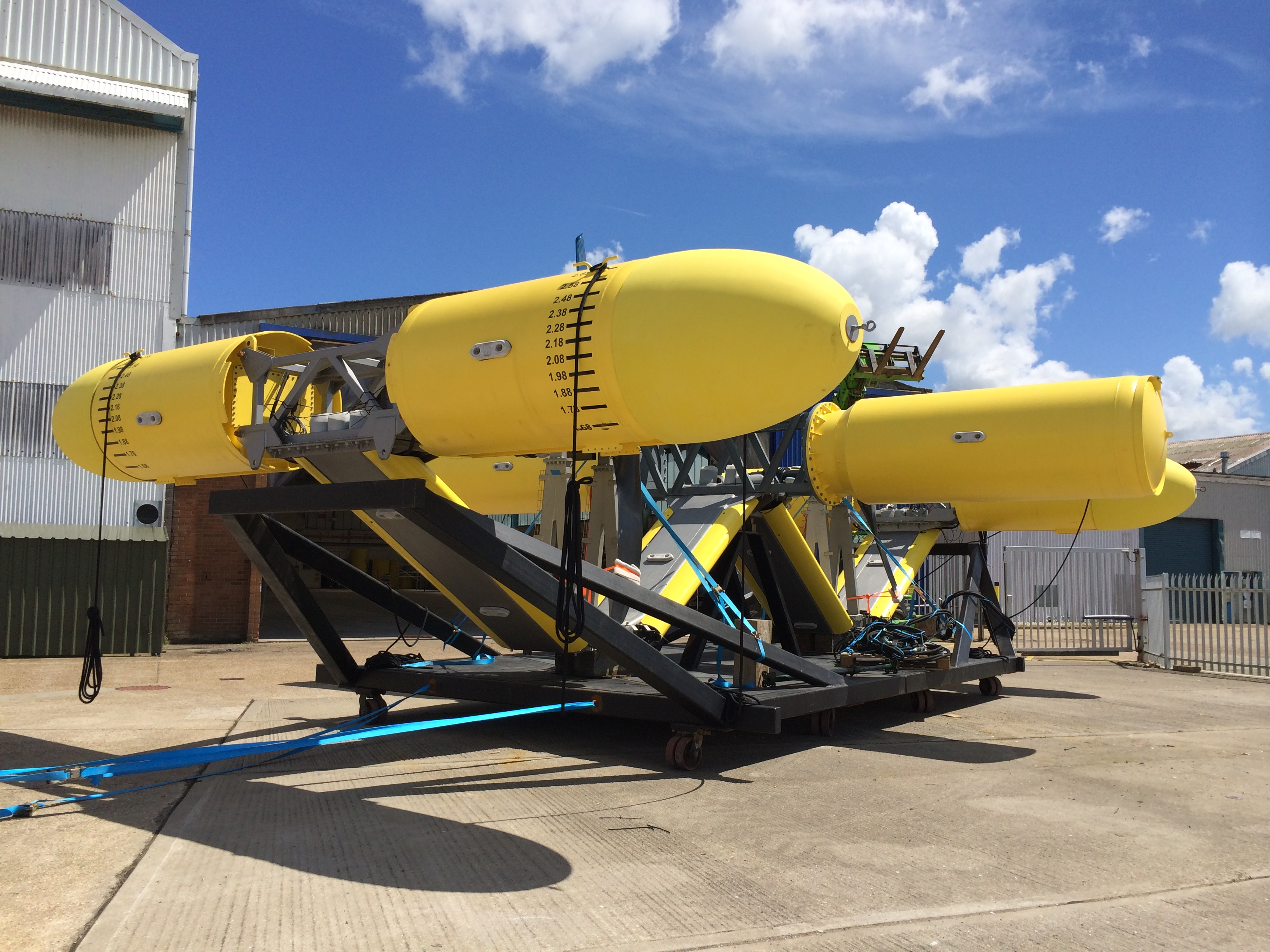 SME (Sustainable Marine Energy Ltd) PLAT-O 1 Tidal Turbine